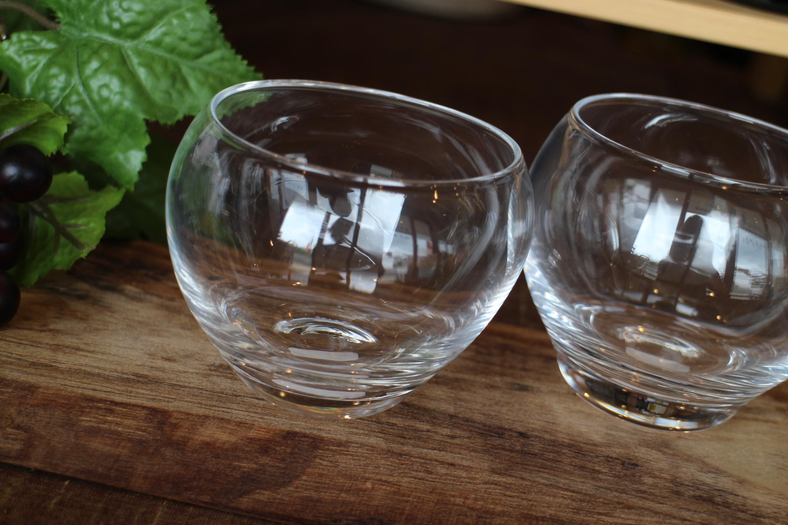 硝子工房「さんぽ」 まあるいグラス